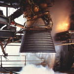 NASA liquid feuled rocket engine used for Constellation program.
